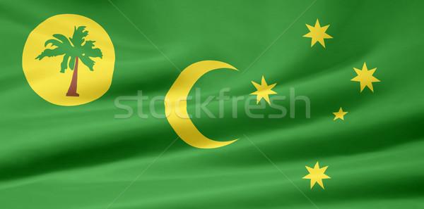 Flag of the Cocos Islands Stock photo © joggi2002