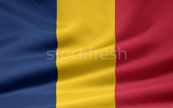 Flag of Chad Stock photo © joggi2002