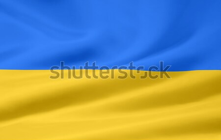 High resolution flag of Lower Austria Stock photo © joggi2002