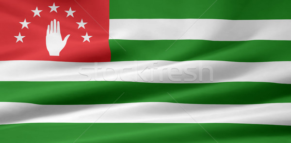 Flag of Abkhazia Stock photo © joggi2002