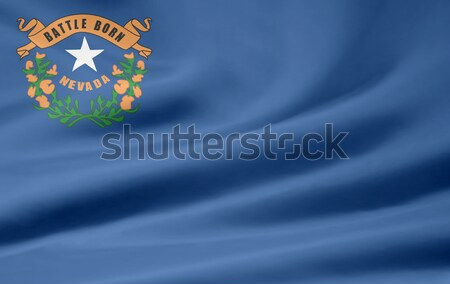 Flag of Nevada Stock photo © joggi2002