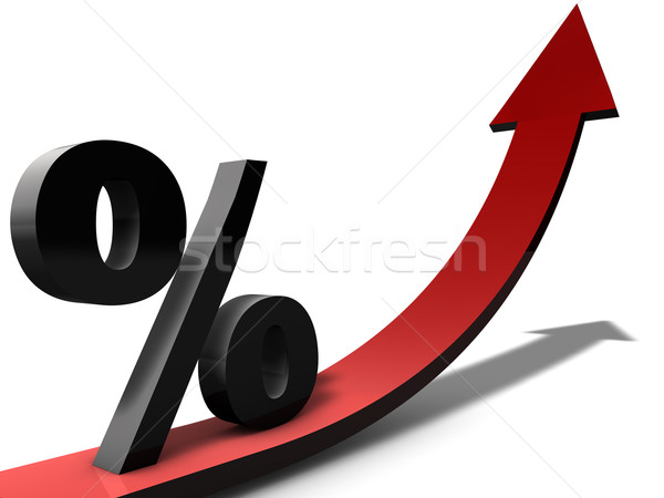 Increasing Percentage Stock photo © joggi2002
