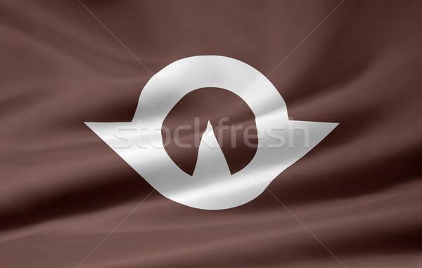 Flag of Yamaguchi - Japan Stock photo © joggi2002