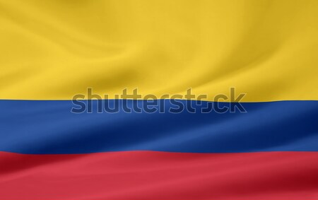 High resolution flag of the dutch province of North Holland Stock photo © joggi2002