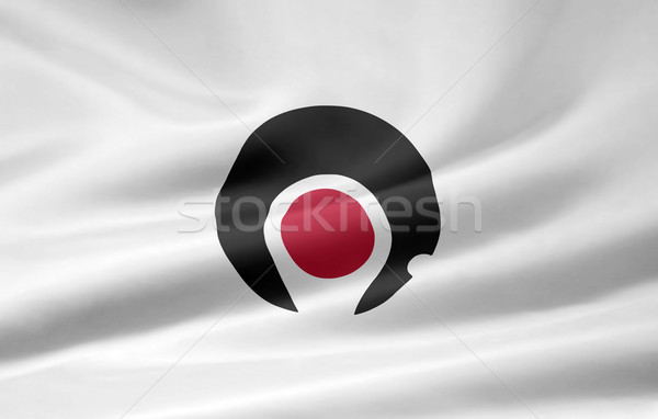 Flag of Kagoshima - Japan Stock photo © joggi2002