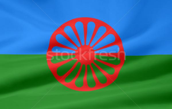 Magas döntés zászló csoport Európa ruha Stock fotó © joggi2002