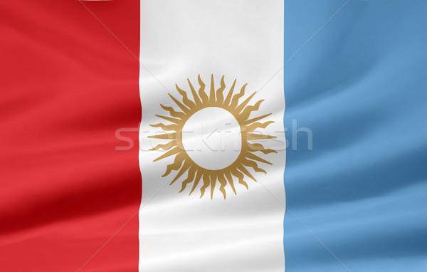 Flag of Cordoba - Argentina Stock photo © joggi2002