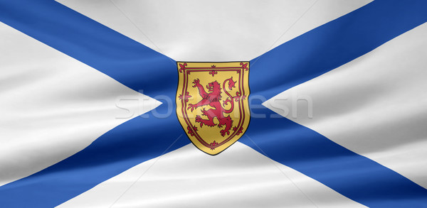 Flag  of Nova Scotia - Canada Stock photo © joggi2002