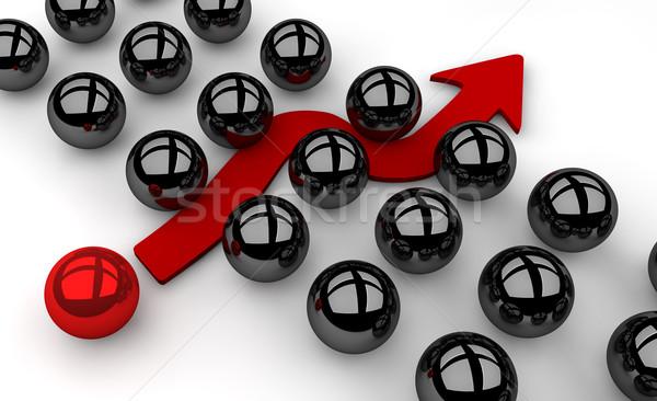 Kwetsbaarheid illustratie bevinding manier firewall veiligheid Stockfoto © joggi2002