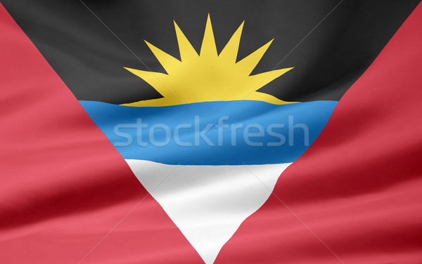 Flag of Antigua and Barbuda Stock photo © joggi2002