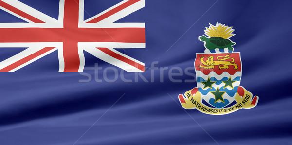 Flag of the Cayman Islands Stock photo © joggi2002