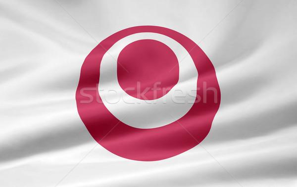 Flag of Okinawa - Japan Stock photo © joggi2002