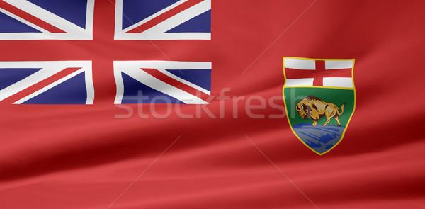 Bayrak tekstil afiş simge biçim vatansever Stok fotoğraf © joggi2002