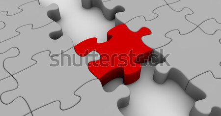 Puzzle Bridge Stock photo © joggi2002