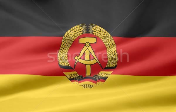 Zászló Németország piros fekete vidék ruha Stock fotó © joggi2002