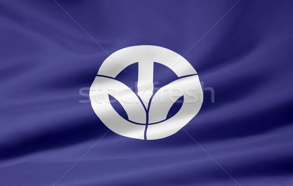 Bayrak Japonya dizayn beyaz ülke bez Stok fotoğraf © joggi2002