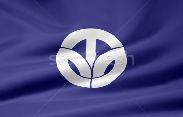 Flag of Fukui - Japan Stock photo © joggi2002