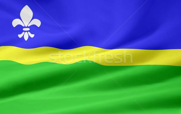 Flag of Flevoland - Netherlands Stock photo © joggi2002