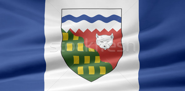 High resolution flag of the Northwest Territories, Canada Stock photo © joggi2002