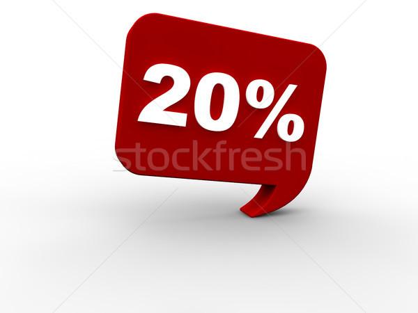 Eladó 20 százalék nyár háló tél Stock fotó © joggi2002