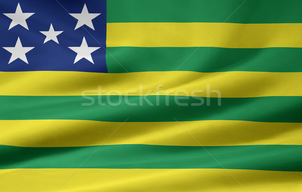 Flag of Goias - Brasil Stock photo © joggi2002