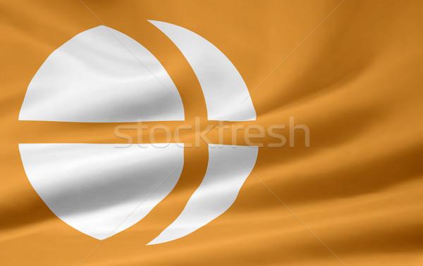 Flag of Nagono - Japan Stock photo © joggi2002