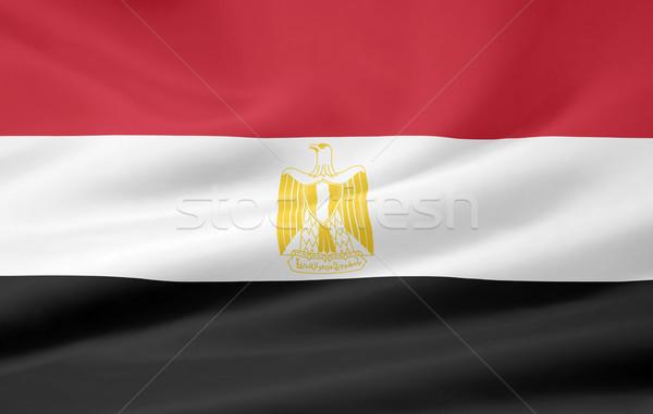 Flag of Egypt Stock photo © joggi2002
