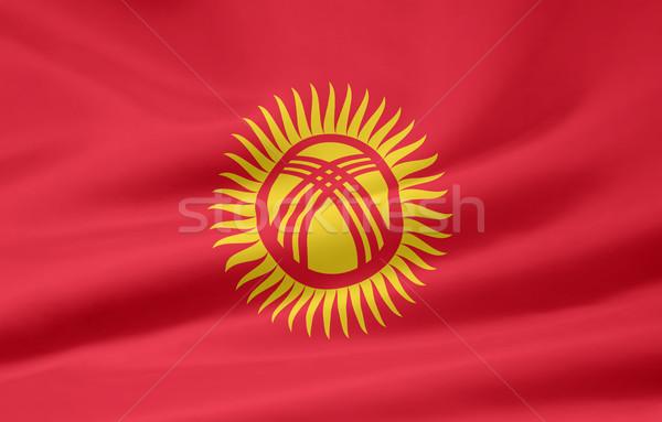 Stock fotó: Magas · döntés · zászló · Ázsia · ruha · szalag