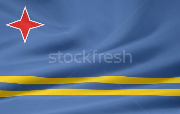 Zászló vidék ruha szalag illusztráció szimbólum Stock fotó © joggi2002