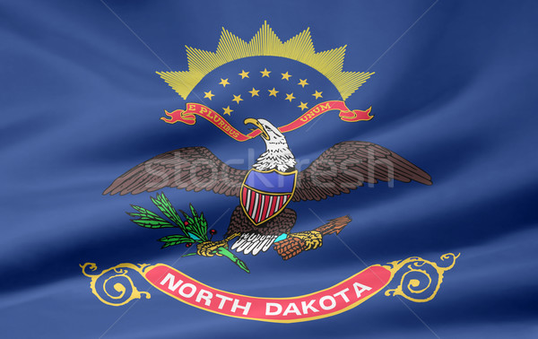 Flag of North Dakota Stock photo © joggi2002
