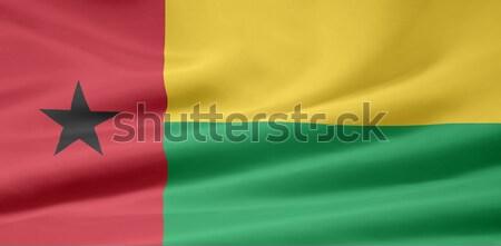 Zászló Afrika ruha szalag szimbólum forma Stock fotó © joggi2002