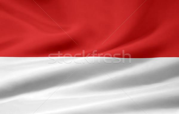 Flag of Hesse - Germany Stock photo © joggi2002