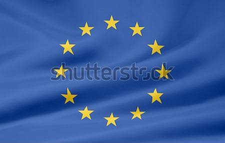 Flag of Europe Stock photo © joggi2002