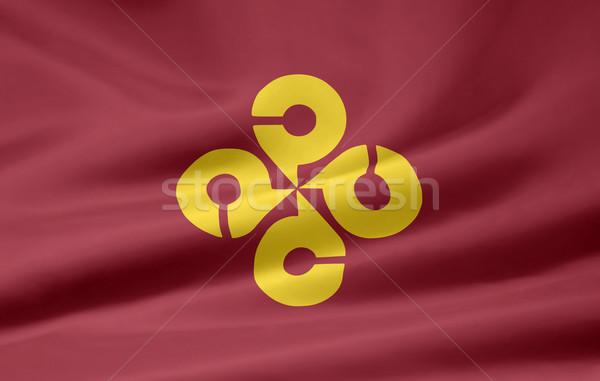 Flag of Shimane - Japan Stock photo © joggi2002
