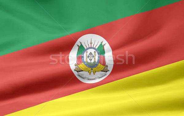 Flag of Rio Grande do Sul - Brasil Stock photo © joggi2002