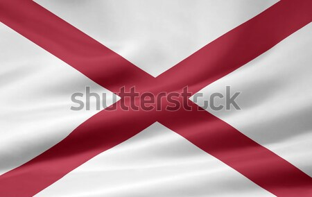 Flag of Alabama Stock photo © joggi2002