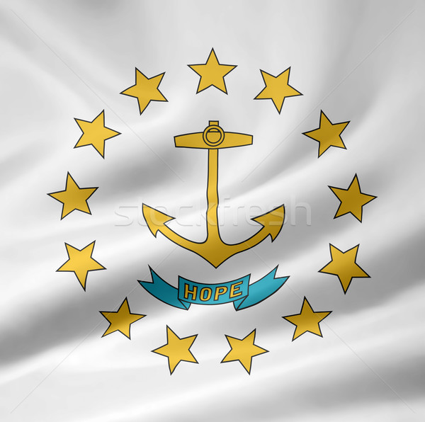Flag of Rhode Island Stock photo © joggi2002