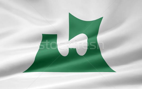 Flag of Aomori - Japan Stock photo © joggi2002