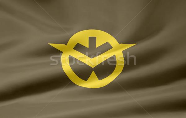 Flag of Okayama - Japan Stock photo © joggi2002