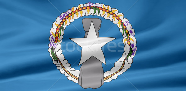 High resolution flag of the Northern Mariana Islands Stock photo © joggi2002