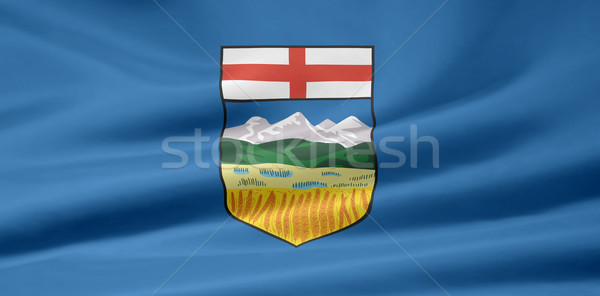 Flag of Alberta - Canada Stock photo © joggi2002