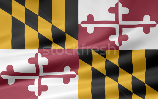 Flag of Maryland Stock photo © joggi2002