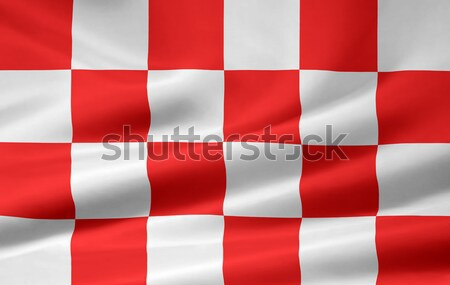 High resolution flag of the dutch province of North Brabant Stock photo © joggi2002