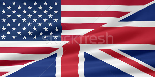 American British Flag Stock photo © joggi2002
