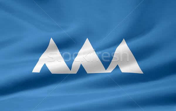 Flag of Yamagata - Japan Stock photo © joggi2002