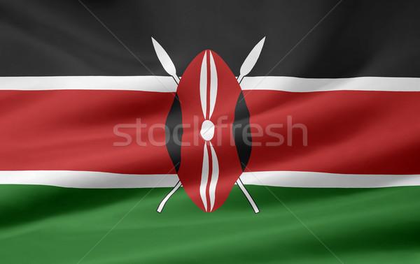 Flag of Kenya Stock photo © joggi2002