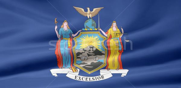 Flag of New York Stock photo © joggi2002