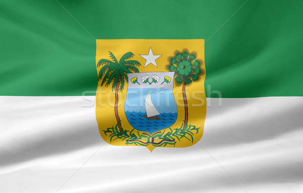 Flag of Rio Grande do Norte - Brasil Stock photo © joggi2002