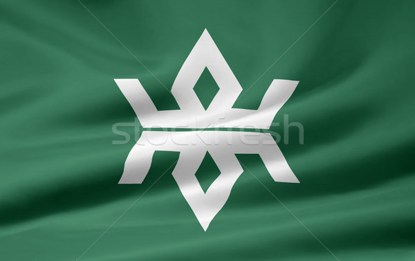 Flag of Iwate - Japan Stock photo © joggi2002