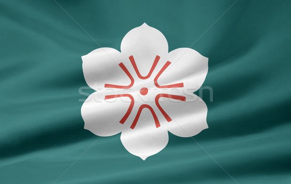 Flag of Saga - Japan Stock photo © joggi2002